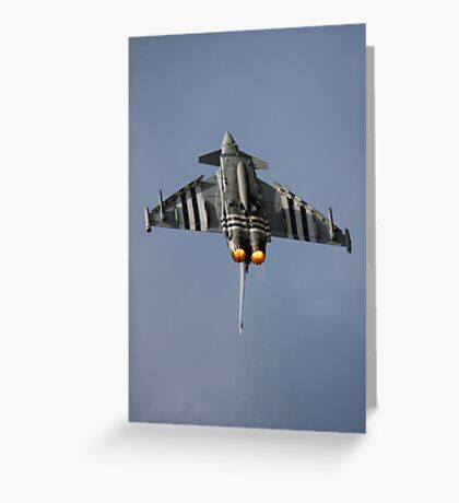 Typhoon Over The Top Greeting Card