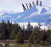 An Alaskan Glacier  by Madeline Snow