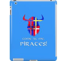 Vikings, assemble! iPad Case/Skin