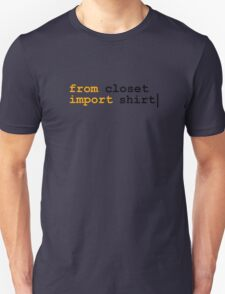 from python import witty shirt T-Shirt