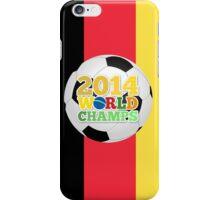 2014 World Champs Ball - Belgium iPhone Case/Skin