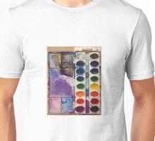 water color pallet  Unisex T-Shirt