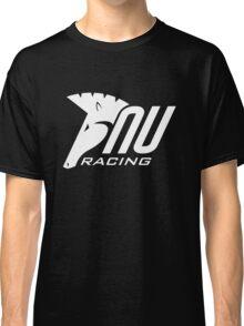 NU Racing Logo White Classic T-Shirt