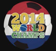 2014 World Champs Ball - Holland One Piece - Short Sleeve