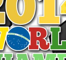 2014 World Champs Ball - Holland Sticker