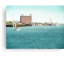 Boston Harbor Canvas Print