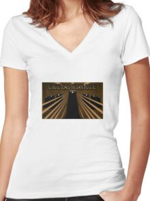 Doctor Who Dalek Exterminate Women's Fitted V-Neck T-Shirt