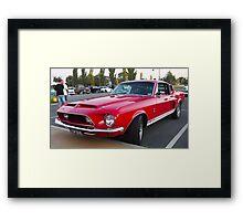 1968 Shelby Cobra Mustang Framed Print
