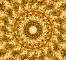 Golden Rush Mandala by PlanetAurora