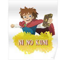 Ni no Kuni Pixel Poster
