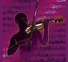 Violinist Score by Bluesax