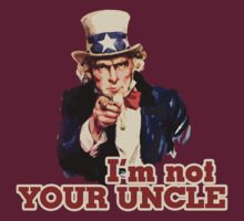 I'm not your uncle by Boogiemonst