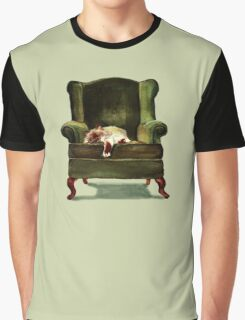 Monkey the Cat Graphic T-Shirt