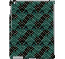 Green Black Pattern iPad Case/Skin