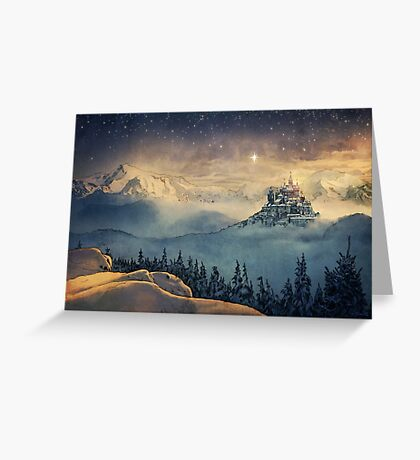 Castle in the Sky Greeting Card