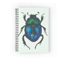 Dung Beetle Spiral Notebook