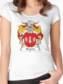 Barrera Coat of Arms/ Barrera Family Crest Women's Fitted Scoop T-Shirt