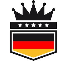 Coat of arms banner King Germany by Style-O-Mat