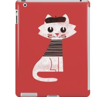 Paris cat iPad Case/Skin