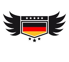 Coat of arms banner wing Germany by Style-O-Mat