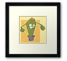 Everybody wants to look pretty Framed Print