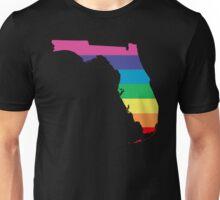 rainbow florida Unisex T-Shirt