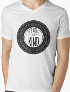 It's Cool to be Kind Mens V-Neck T-Shirt