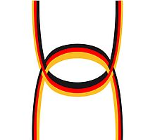 Stripes flag bow Germany by Style-O-Mat