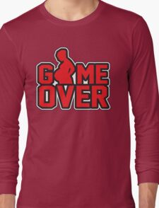 Game Over - Pregnant Long Sleeve T-Shirt