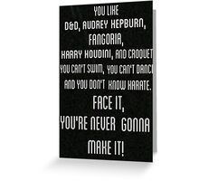 im not okay (i promise) Greeting Card
