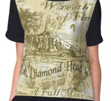 diamond head Chiffon Top