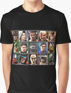 Mortal Kombat 3 Character Select Graphic T-Shirt
