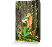 Ostara Prayer Greeting Card
