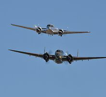 Lockheed Twins, Avalon Airshow, Australia 2013 by muz2142