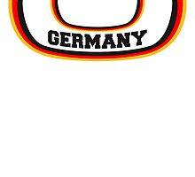 Lines bow flag Germany by Style-O-Mat