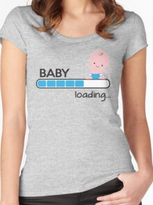 Baby loading... Women's Fitted Scoop T-Shirt