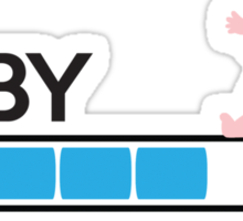 Baby loading... Sticker