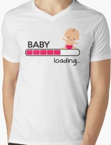 Baby loading... Mens V-Neck T-Shirt