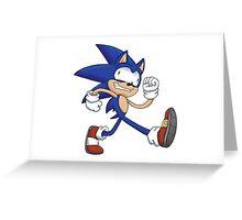 Sonicking Around Greeting Card
