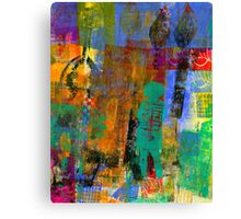 Eye Candy: Her CREATIVE Journey (Monotype) Canvas Print