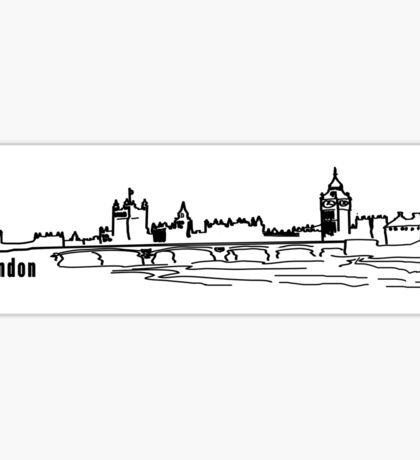 London.  Sticker