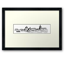 London.  Framed Print