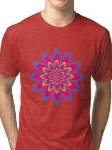 Infinite Flower Tri-blend T-Shirt