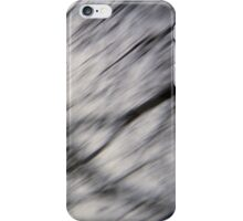 Blurry Tree Branches iPhone Case/Skin