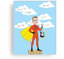 Teacher Superhero Canvas Print