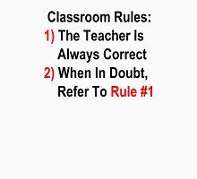 Classroom Rules Unisex T-Shirt