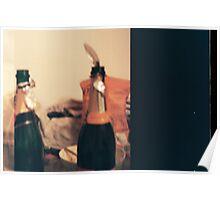 Champagne celebration Poster