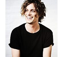Matthew Gray Gubler smiling Photographic Print