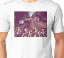 Abbey Road Mario Edition 2 Unisex T-Shirt