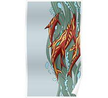 Aquamarine Revenge [CSGO] Poster